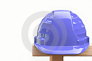 Blue Helmet Royalty Free Stock Photo - Image: 21364125