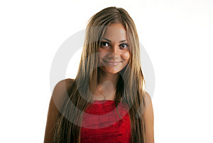Brown-head Girl Royalty Free Stock Image - Image: 21365686