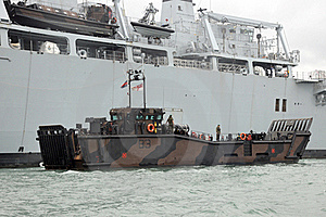 Military Landing Craft Stock Images - Image: 21366184