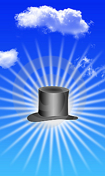 Magic Hat And Sky Stock Images - Image: 21368164