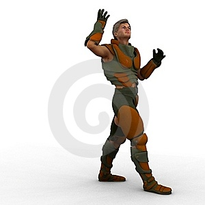 Trooper Costume Stock Images - Image: 21368544