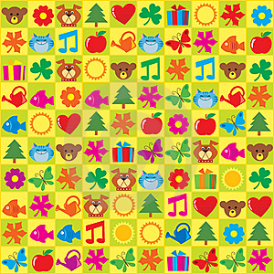 Kids Stickers Royalty Free Stock Photo - Image: 21369455