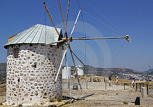 The Old Mills In Turkey Royalty Free Stock Photos - Image: 21373148