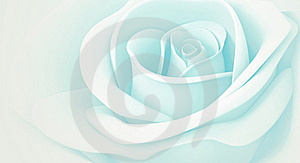 3D Light Blue Rose Royalty Free Stock Photography - Image: 21374447