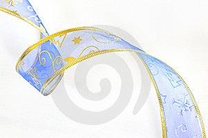 Blue Ribbon Isolated Royalty Free Stock Photography - Image: 21375017