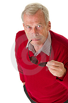 Senior With Shades Stock Photos - Image: 21375873