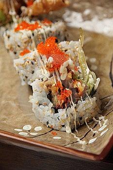 Soft Shell Crab Sushi Stock Images - Image: 21382974