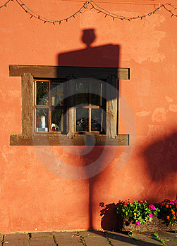 Window At Sunset Royalty Free Stock Photos - Image: 21384008
