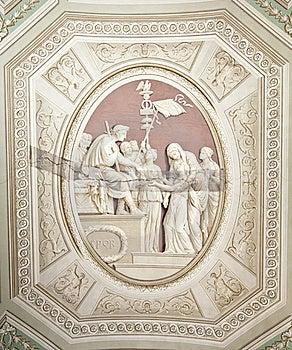 Painting Restoration Technique Stock Photo - Image: 21385090