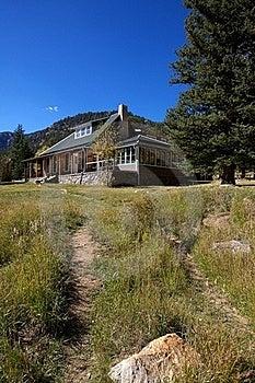 Rocky Mountain House Stock Photo - Image: 21385720