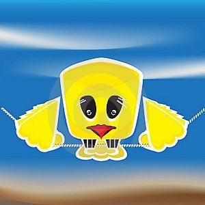 Sad Bird Stock Image - Image: 21386151
