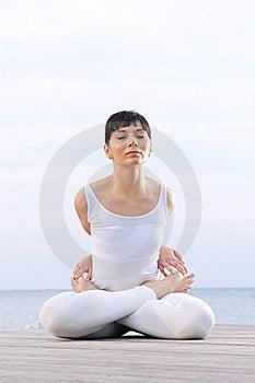 Lotus Pose Royalty Free Stock Photo - Image: 21390415