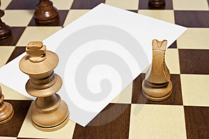Space Blank On Chessboard Royalty Free Stock Photos - Image: 21394348