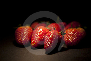 Group Of Fresh Red Strawberry Stock Photos - Image: 21395683