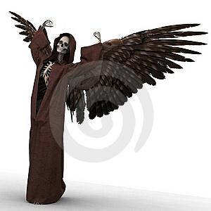 Angel Of Death Stock Photography - Image: 21395842