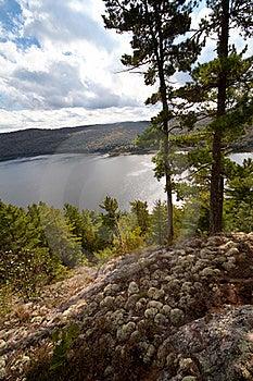 Carpenter Lake Clear Water Vista Stock Photography - Image: 21400402