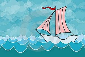 Sailing Yacht Royalty Free Stock Image - Image: 21405096