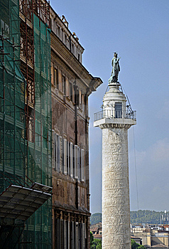 Trajan Column Stock Images - Image: 21410564