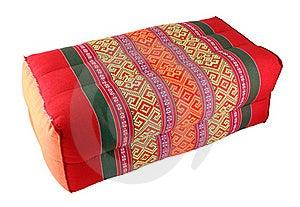 Thai Cotton Pillow Stock Photography - Image: 21419522