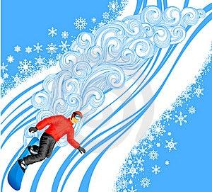 Snowboarding Stock Image - Image: 21419841