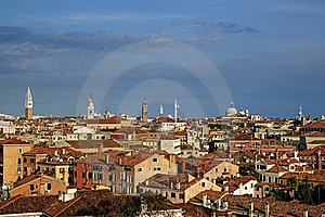 Venice From Roof Stock Photos - Image: 21424323