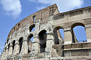 Colosseum Arc Stock Images - Image: 21426774