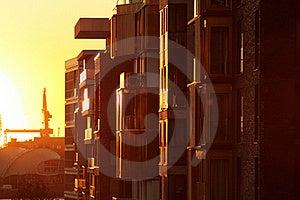 Sunset Stock Images - Image: 21435814