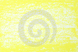 Yellow Texture Background From Oil Pastels Stock Photo - Image: 21436330
