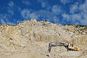An Old Stone Quarry Royalty Free Stock Image - Image: 21437356
