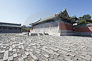Ancient Chinese Architecture Stock Photos - Image: 21438073