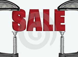 SALE Royalty Free Stock Photos - Image: 21438338