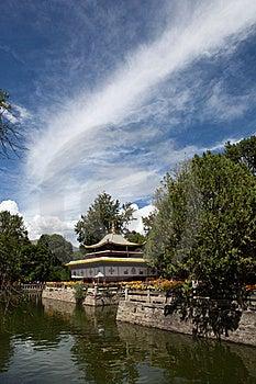 Tibetan Style Pavilion Stock Images - Image: 21439064