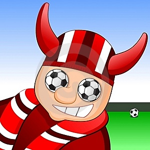 Soccer Fan Royalty Free Stock Images - Image: 21442419