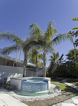 Outdoor Hot Tub Royalty Free Stock Images - Image: 21444229