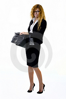 Buisness Lady Royalty Free Stock Photography - Image: 21454637