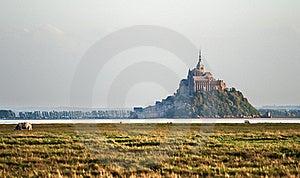 Le Mont Saint Michel Royalty Free Stock Photo - Image: 21456765