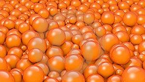 橙色的球 库存照片 - 图片: 21462140