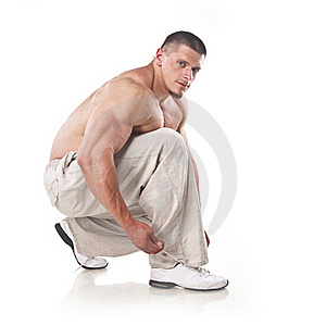 Strong Athletic Man Royalty Free Stock Photos - Image: 21465938