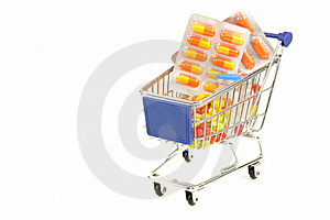 Shopping For Drugs Royalty Free Stock Photo - Image: 21467005