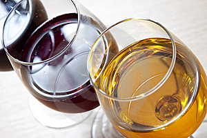 Three Colors Of Wine Royalty Free Stock Photography - Image: 21468367