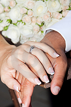 Hands And Rings Stock Image - Image: 21468431