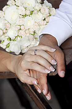 Hands And Rings Stock Images - Image: 21468514