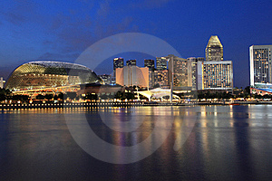 Esplanade Theater Royalty Free Stock Images - Image: 21470819
