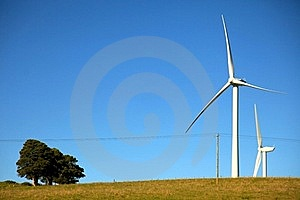 Wind Turbines Royalty Free Stock Images - Image: 21475859