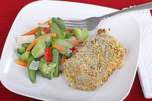 Breaded Fish Fillet Stock Photos - Image: 21476803