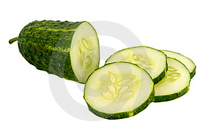 Cucumber Sliced Royalty Free Stock Photography - Image: 21477567