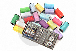 Cotton Threads Stock Images - Image: 21485684