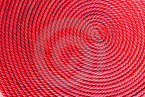 Red Rope Coil Stock Image - Image: 21491011