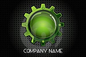 Glossy Cogwheel Stock Photos - Image: 21494373