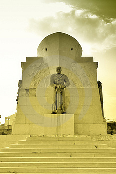 World War Monument Soldier Royalty Free Stock Photo - Image: 2151115